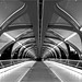 Peace Bridge in b/w by leuntje