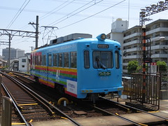 Hankai Tramway 504 (May 2013)