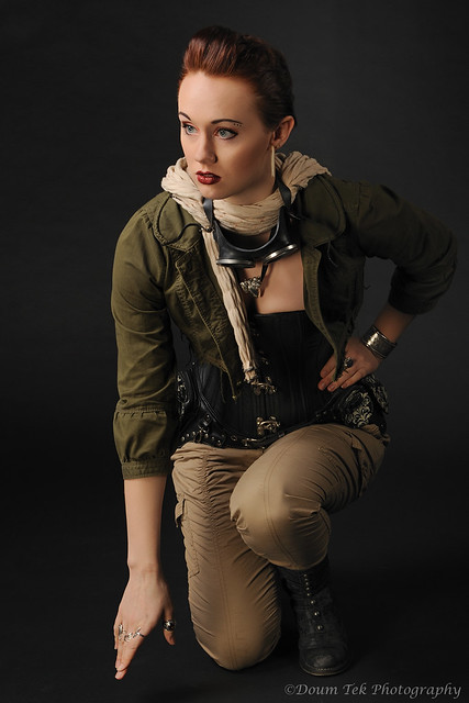 Saideh Steampunk Photo Shoot - 12 28 12