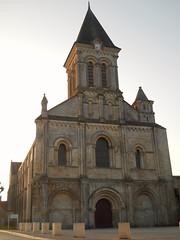 Nieul-sur-l'Autize église Saint-Vincent