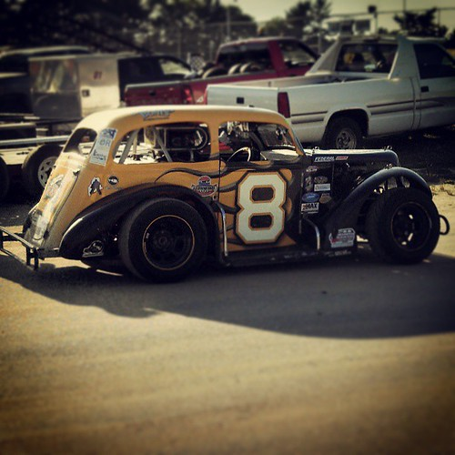 Ready to #race at @beechridge tonight! #8 #uslegends #nelcar #raceday
