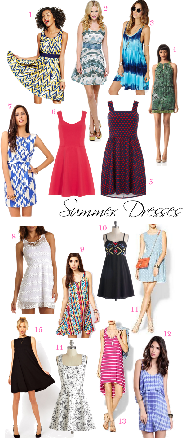 Living After Midnite: Jackie Giardina: OBSESSION: Summer Dresses