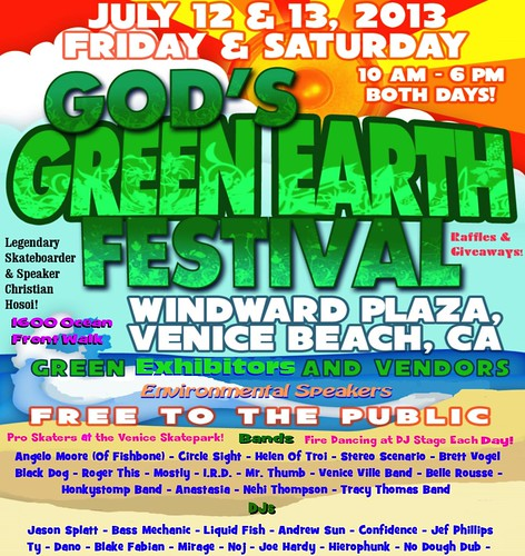 God's Green Earth Festival Venice Beach