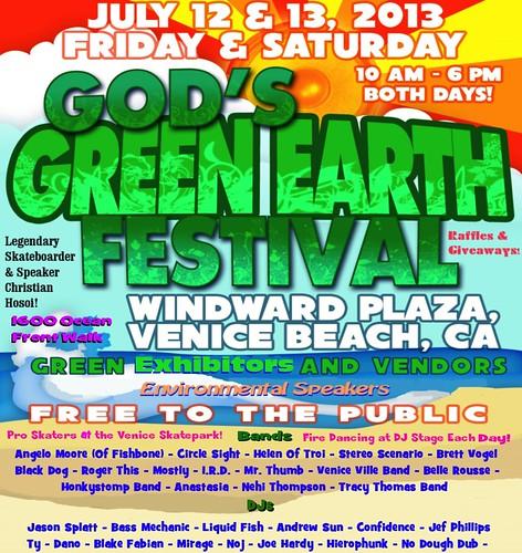 God's Green Earth Festival Venice Beach