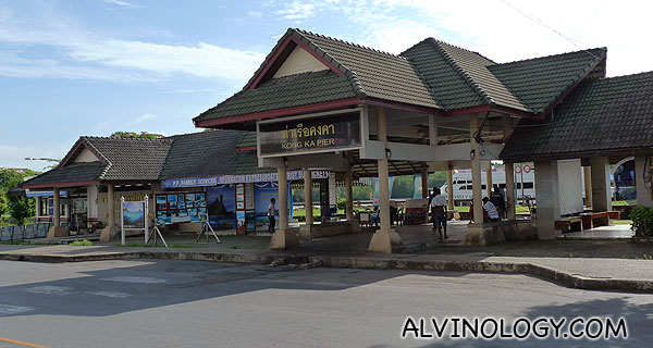 Pier in Krabi