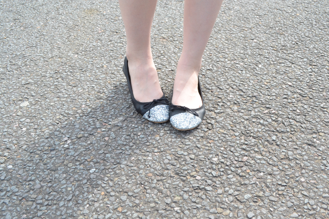 Daisybutter - UK Style and Fashion Blog: ootd, zara shoes