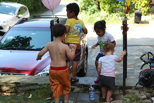 Kids' Car Wash Brigade