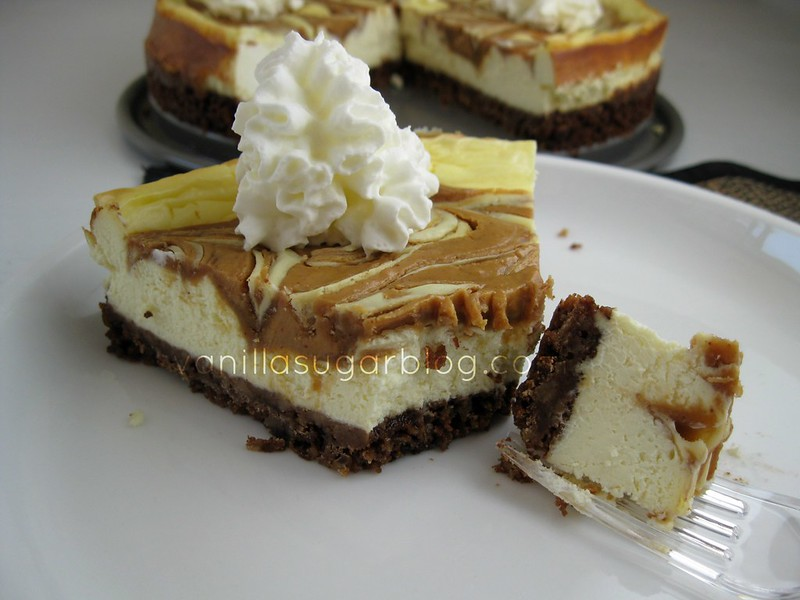 vanilla sugar blog: peanut butter cheesecake with ...