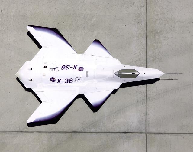 X-36 on Ramp