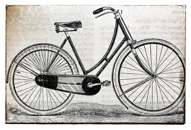 Dutch bikes are English: Dunlop lady's bike, 1897