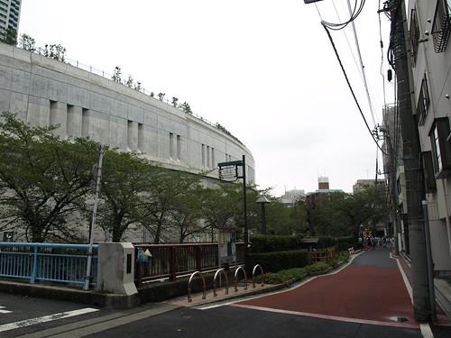 大橋ジャンクション見学(中央環状品川線)