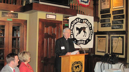 Rev. James Connell featured guest at our Newsmaker Luncheon on Aug. 13, 2013.