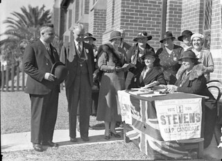 Election, 13 May 1935 by Sam Hood