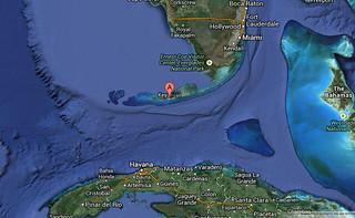 google map key west