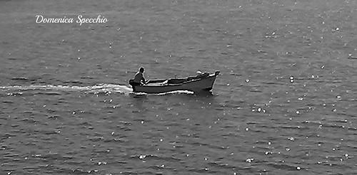 pescatore a Manfredonia by Domenica Specchio