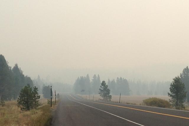 Yosemite Fire XC at Bear Valley