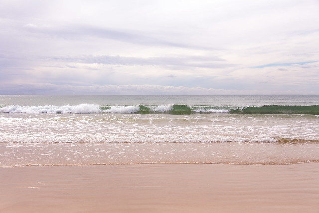 Waves at St. Brelade's Bay