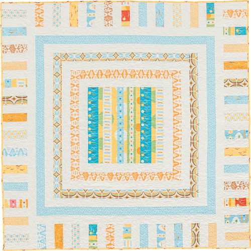 Sophisticated Square - from Becoming a Confident Quilter