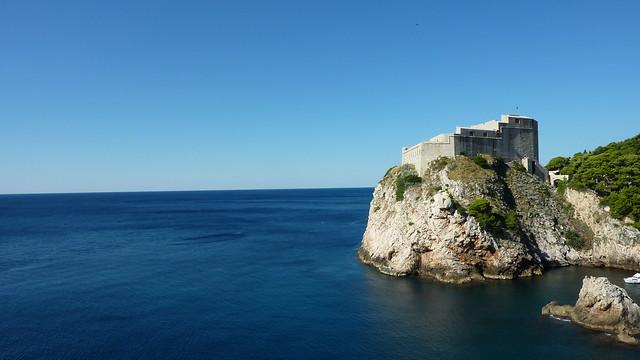 Fortificación de la antigua República de Ragusa. Dubrovnik. Croacia.