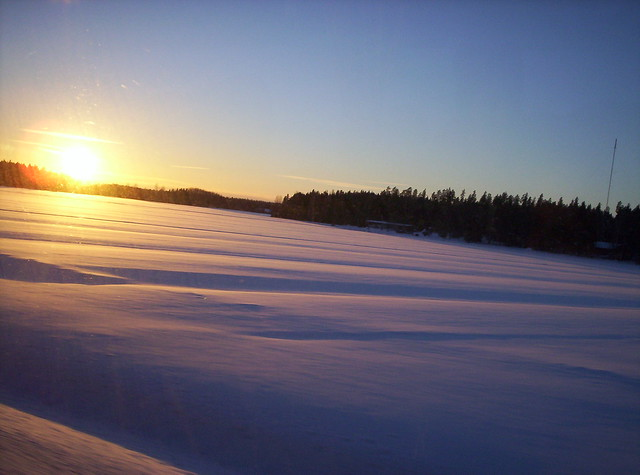 Un manto de nieve