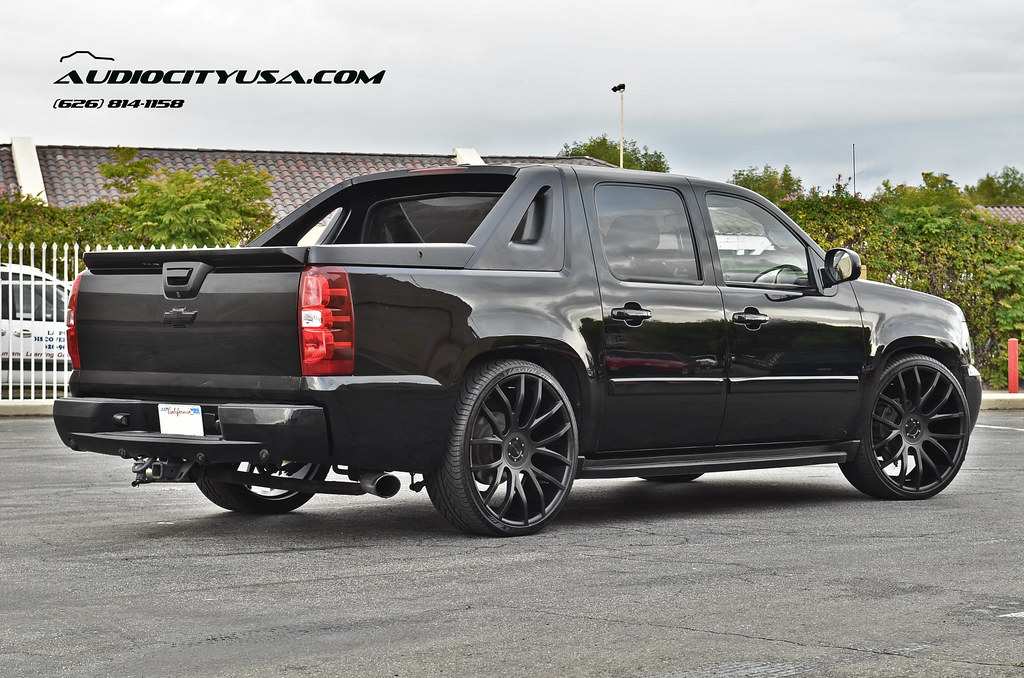 White 2014 Chevy Silverado Black Rims additionally 22 Inch Chevy Ck375 Replica Wheels Chrome Truck Wheels Hollander 5409 moreover 10 Cars With Bonkers Frontend Swaps besides 2017 Chevrolet Silverado High Desert Concept as well Watch. on chevy colorado on 22 inch rims