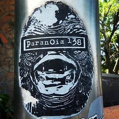 Paranoia 138 #puertovallarta #streetart #mexico #stickers
