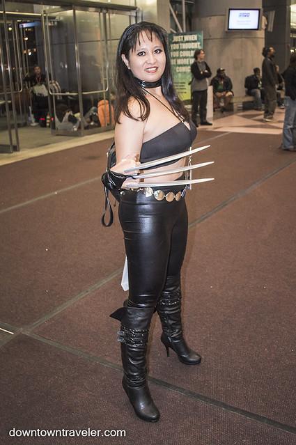 NY Comic Con Womens Costume X-23 Wolverine