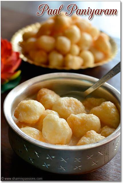 Chettinad Paal Paniyaram Recipe