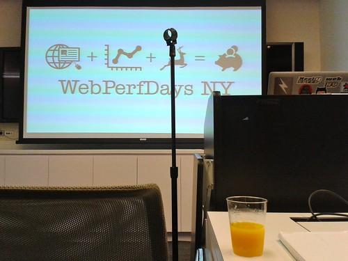 Web Perf Days NY