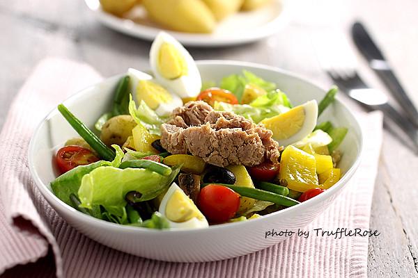 尼斯沙拉 Niçoise salad -20131024