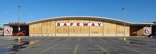 Abandoned Safeway store