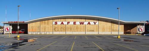 Abandoned Safeway store