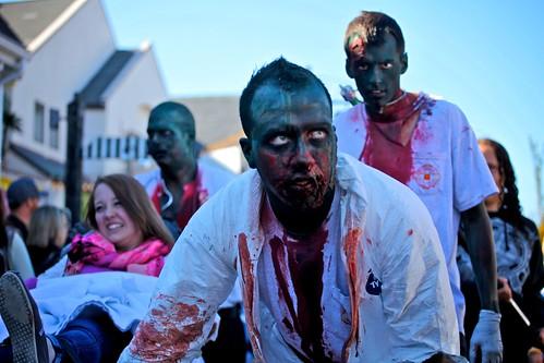 green zombie hospital crew