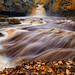 West Burton Falls In Spate by mark_mullen