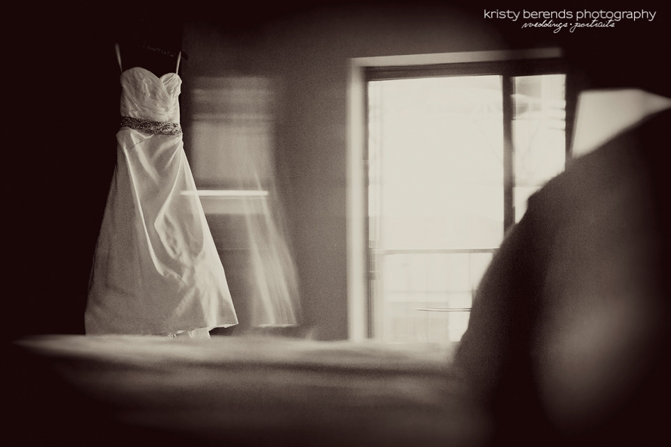 3 Wedding Gown in Window