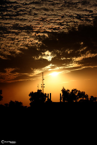 sunset sun clouds canon photography photographer iraq 7d bagh canon7d