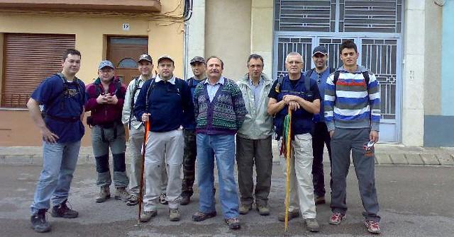 Grupo excursionista chertolí