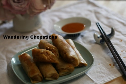 Indonesian Lumpia Semarang with Bamboo Shoots, Dried Shrimp, and Scrambled Eggs 2