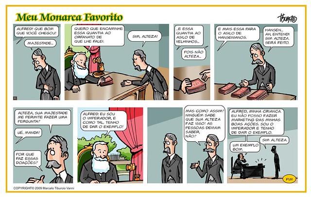 Doações - D. Pedro II, por Tiburcio