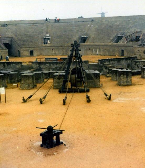 Pentaspastos crane Casa Vetera - Xanten 1980