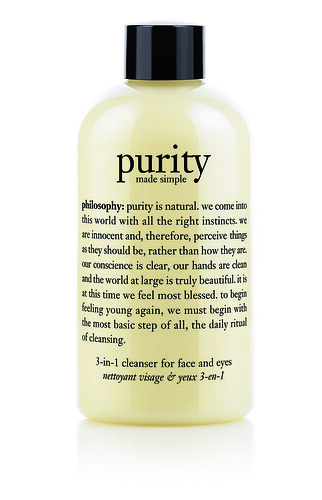 philosophy - purity 3 in 1 cleanser