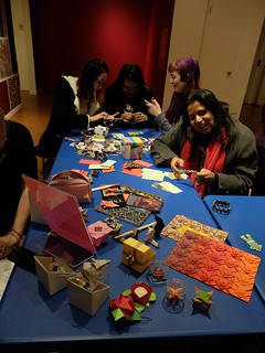Origami Society of Toronto at the Textile Museum