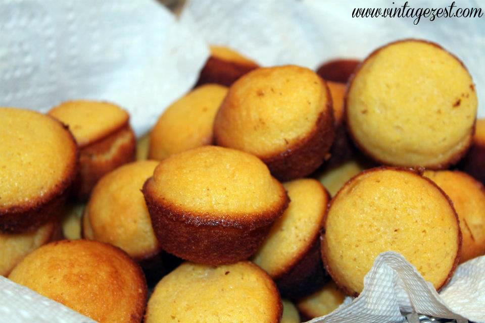 Mini Golden Sweet Cornbread 3