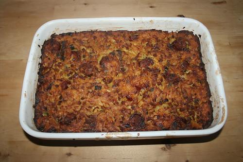 30 - Döppekoochen - Rheinischer Kartoffelkuchen - Fertig gebacken / Rhenisch potato cake - Finished baking