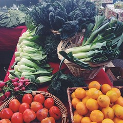 Gorgeous at the market today. My happy place. @cuesa #farmersmarket