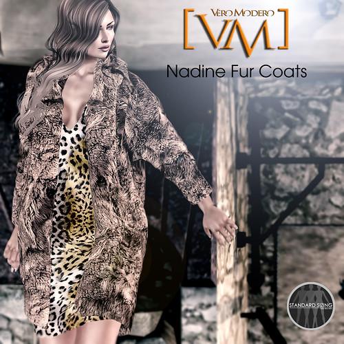 [VM] VERO MODERO Nadine Fur Coats