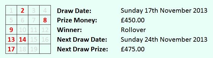 Lottery 17-11-13