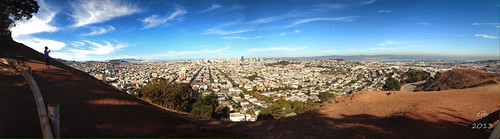 San Francisco from Bernal  (13 Nov 13)