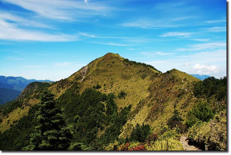 耶巴奧山(From伊澤山下)