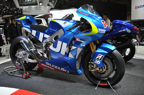 SUZUKI MotoGP TEST BIKE